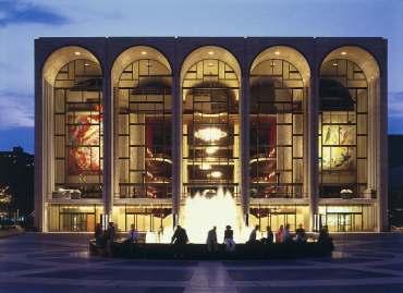 Metropolitan Opera House, Lincoln Center, New York