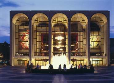 Metropolitan Opera House, Lincoln Center, New York