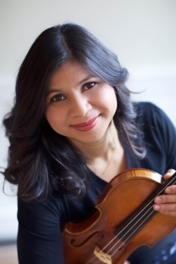 Violinist Adele Anthony. Photo by Marcia Ciriello