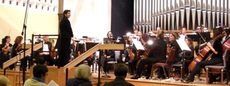 Cynthia Katsarellis and the Pro Music Colorado Chamber Orchestra