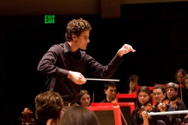 "Steve Hackman, music director of CMF's ""Music Mash=up"" series"