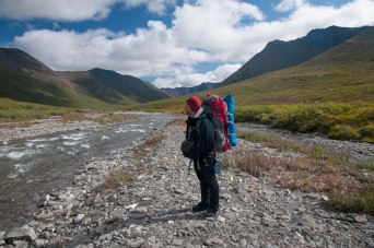 Stephen Lias in Gates or the Arctic National Park. Photo courtesy of the composer.