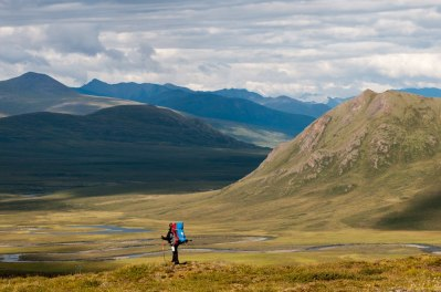 Stephen Lias in Gates of the Arctic National Park