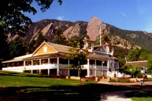 The Dining Hall, on the beautiful CMF Chautauqua campus