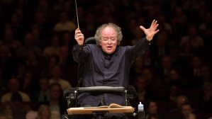 James Levine leading the Met Orchestra in 2013. (AP Photo/Metropolitan Opera, Marty Sohl)