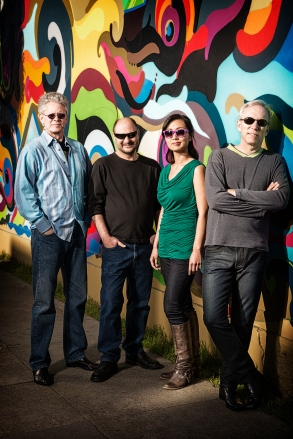 Kronos Quartet: David Harington, John Sherba, Sunny Yang and Hank Dutt. Photo courtesy of Kronos Quartet.