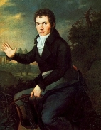 Beethoven ca. 1804–05. Portrait by Joseph Willibrord Mähler.