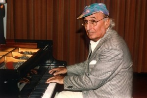 Pianist/composer Friedrich Gulda