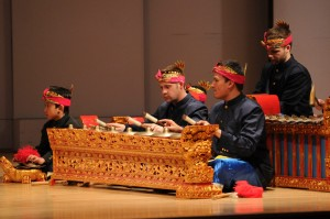 CU Balinese Gamelan (Photo by Glenn Asakawa/University of Colorado)