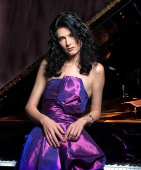 Pianist Katie Mahan.