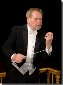 Robert Olson, conductor of the Longmont Symphony
