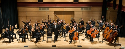 Boulder Chamber Orchestra in a Holiday Mood (Photo by Keith Bobo)