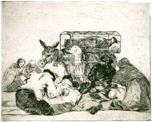 "Francisco Goya: ""Strange Devotion,"" Plate 66 of ""Disasters of War"""