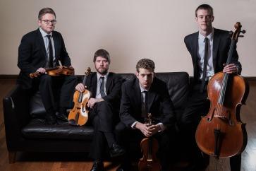 Altius String Quartet. Photo by  Jon Hess.