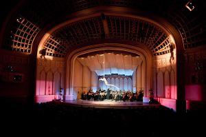 Boulder Philharmonic with Cirque de la Symphonie. Photo by Glenn Ross.