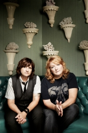 Indigo Girls. Photo by Jeremy Cowart.