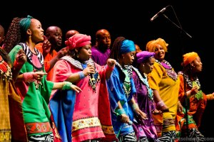 Soweto Gospel Choir will be one of the colorful attractions of the 2015–16 season of CU Presents