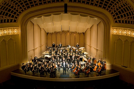 The entire orchestra will be in the solo spotlight when the Boulder Phil performs Bartók's Concerto for Orchestra