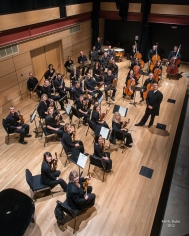Bahman Saless and the Boulder Chamber Orchestra. Photo by Keith Bobo.