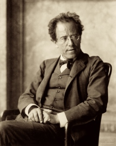 Gustav Mahler. Photo by Moritz Näher.
