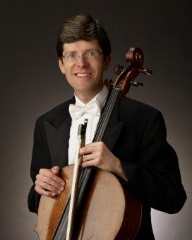 Cellist Desmond Hoebig