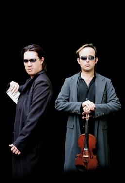 Hyung-ki Joo and Aleksey Igudesman. Photo courtesy of Michael Sachsenmaier.