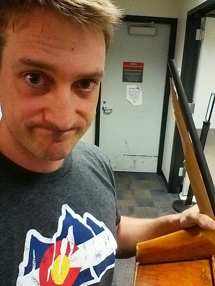 Colorado Symphony bass player's instrument smashed after successful audition (1/3)