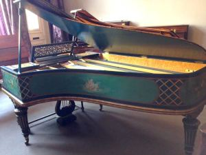 BCO's debutante: an 1895 piano by Érard.