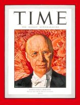 Prokofiev on the cover of Time magazine, Nov. 19, 1945