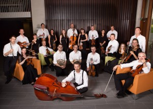 Irish Chamber Orchestra. Photo courtesy of CU, Boulder.