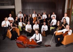 Irish Chamber Orchestra. Photo courtesy of CU, Boulder.