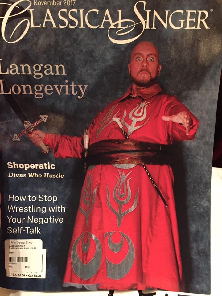 Classical Singer Langan