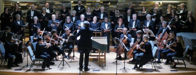 ZC conducts chorus May 2017