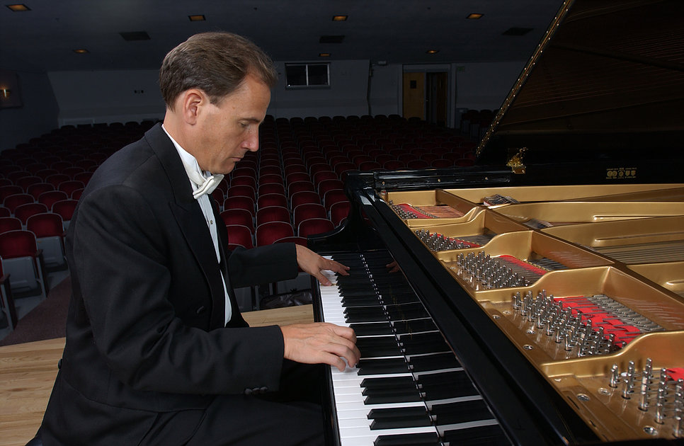 Pianist David Korevaar with the University of Colorado at Boulder College of Music